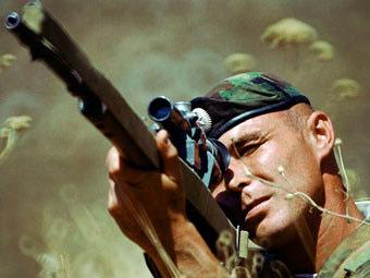 Снайпер мотострелковой бригады