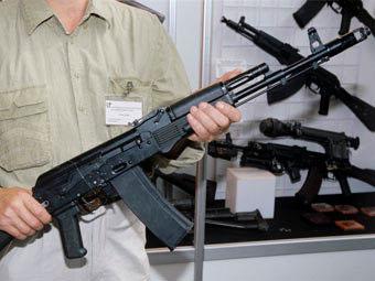 Стенд «Ижмаша» на выставке вооружений
