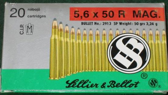 5.6x50 R Magnum