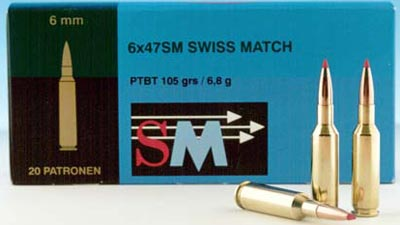 6x47 SM Swiss Match
