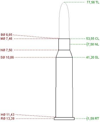6.5x54 R Mannlicher