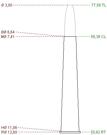 6.5x58 R Sauer