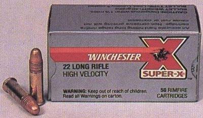 .22 LR производства фирмы Winchester