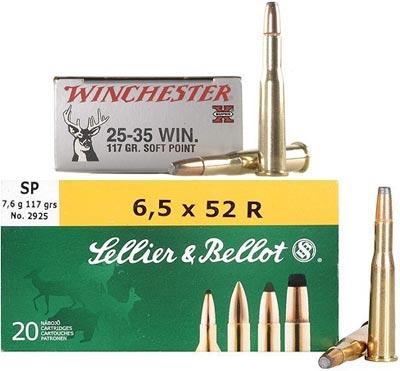 .25-35 Winchester / 6.5x52 R