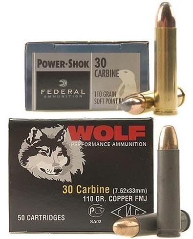 .30 Carbine производства США и России