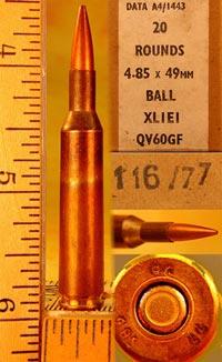4.85x49 с пулей XL1Е1