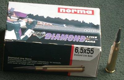 патроны 6,5x55 выпускаемые фирмой Norma