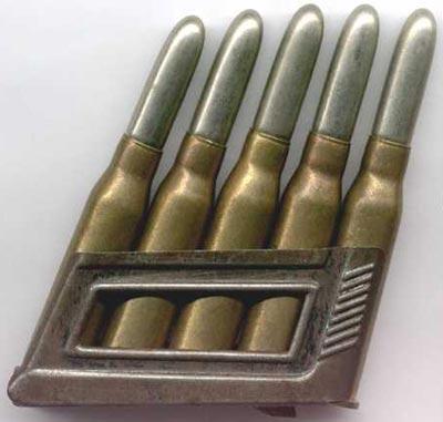 8x50 R Mannlicher в магазине винтовки Mannlicher