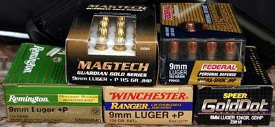 9x19 Luger разных производителей