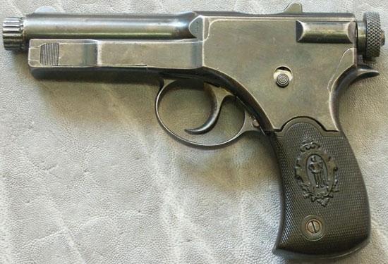 Пистолет Roth-Sauer 1900 под патрон 7.65x13 Roth-Sauer