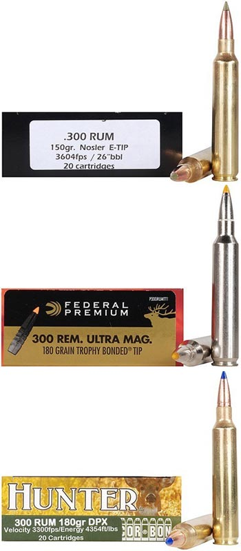 .300 Remington Ultra Magnum