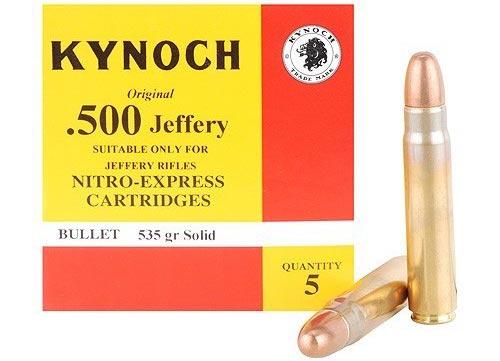 .500 Jeffery производства Kynoch