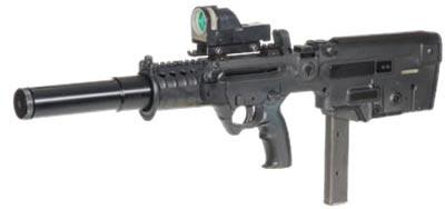 Автомат пистолет пулемет tavor mtar 21 micro