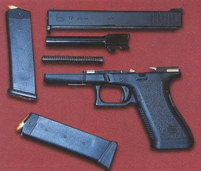 Glock 17 неполная разборка