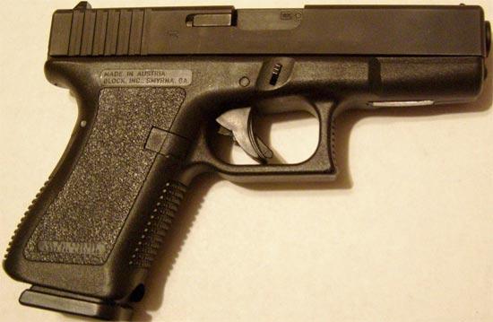 Glock 19 раннего выпуска