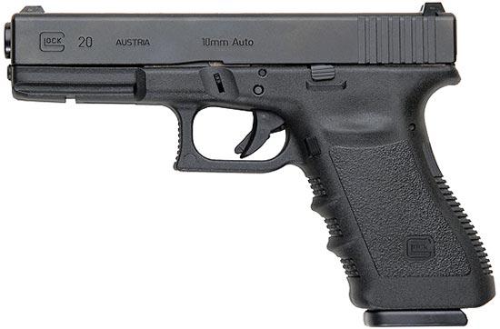Glock 20 третьего поколения