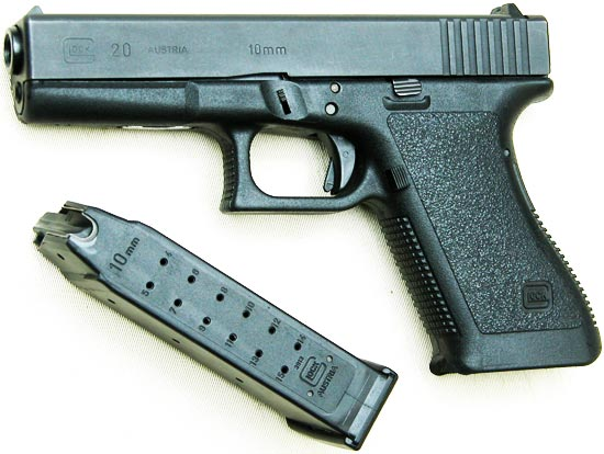 Glock 20 раннего выпуска