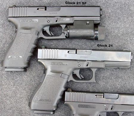 Glock 21 и Glock 21SF
