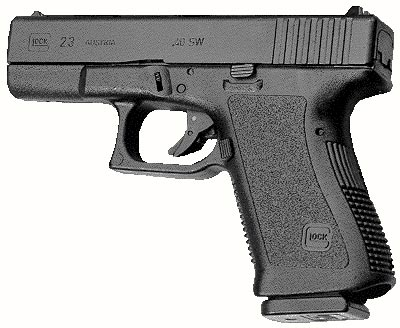 Glock 23 раннего выпуска