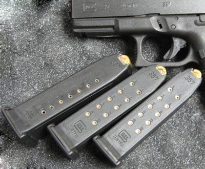 магазины используемые в Glock 32