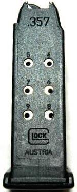 магазин емкостью 9 патронов для Glock 33