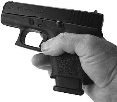 Glock 33 с магазином емкостью 11 патронов