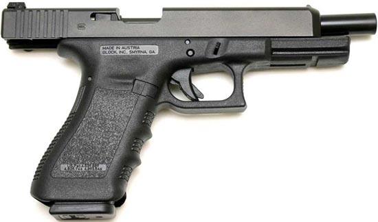 Glock 35 на затворной задержке