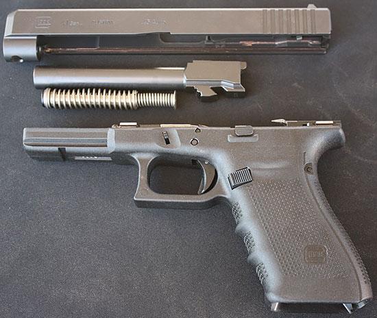 Glock 41 неполная разборка