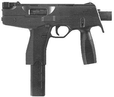 пистолет-пулемет Steyr TMP
