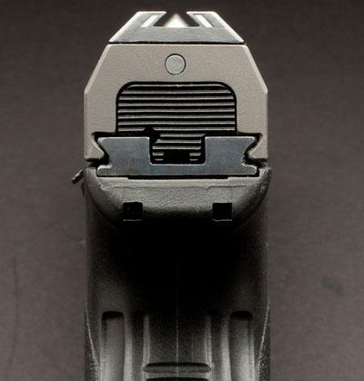 вид на прицельные приспособления серии Steyr M-A1 и Steyr S-A1