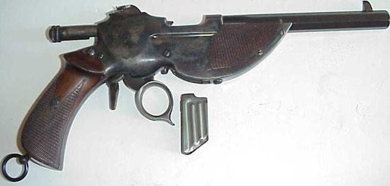 Bittner M 1893 с отсоединенным магазином