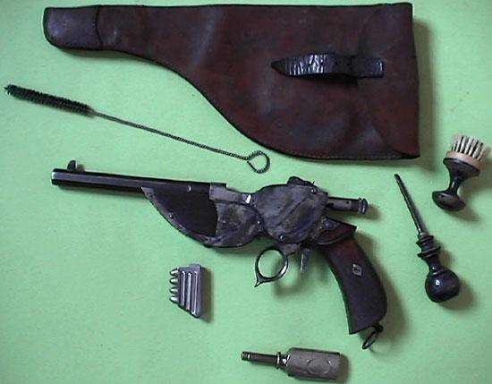 Bittner M 1893 с кобурой и принадлежностями