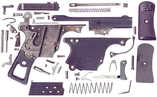 детали пистолета Erika