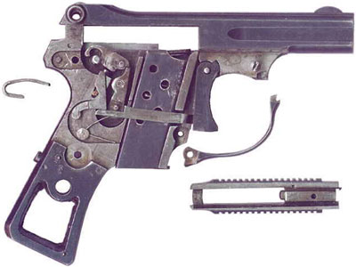 устройство пистолета Erika