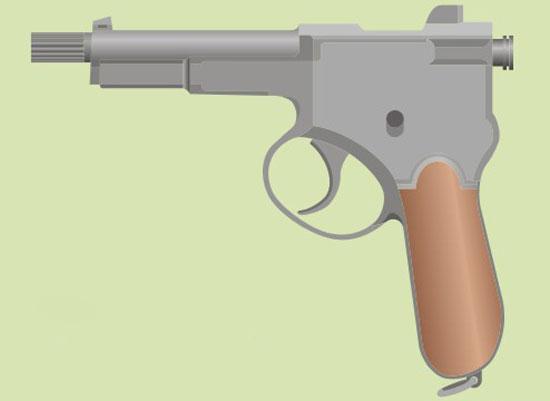 пистолет Krnka M1899