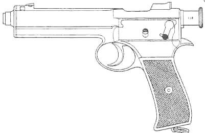 пистолет Krnka M1904