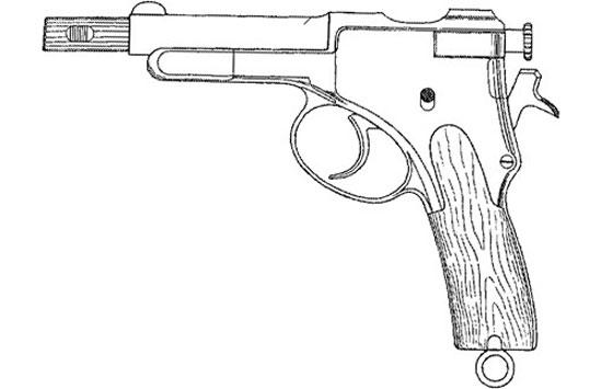 пистолет Krnka M1895
