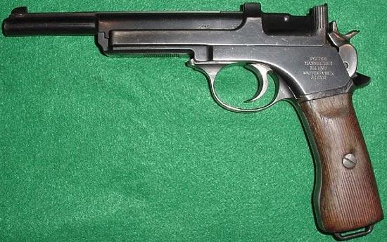 Mannlicher M1905, принятый на вооружение в Аргентине