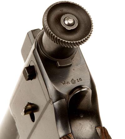 Roth-Steyr M 1907 вид сзади