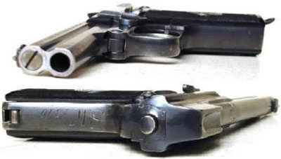 Steyr-Pieper M1908/34 вид спереди и сзади