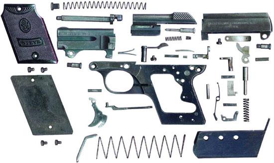 Steyr-Pieper M1909 полная разборка