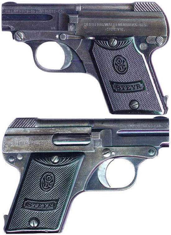 Steyr-Pieper M1909 выпуска до Первой Мировой войны