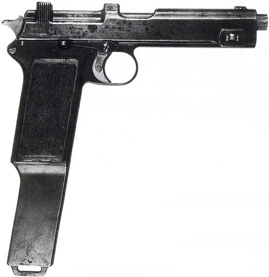Repetierpistole M1912/16 (Steyr M1912/16)