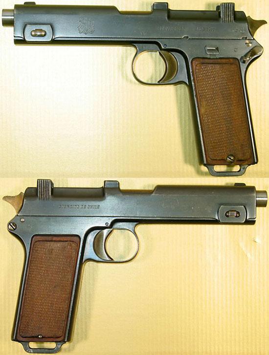 Steyr M1911 принятый на вооружение Чилийской Армии