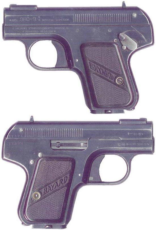 Bayard 1908 образца 1911 года под патрон 9 mm Browning