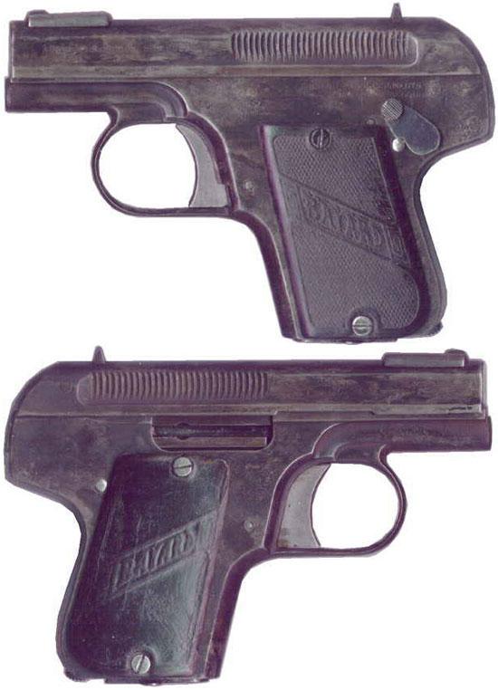 Bayard 1908 образца 1912 года под патрон 6.35 mm Browning