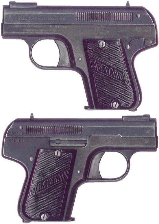 Bayard 1908 образца 1912 года под патрон 7.65 mm Browning