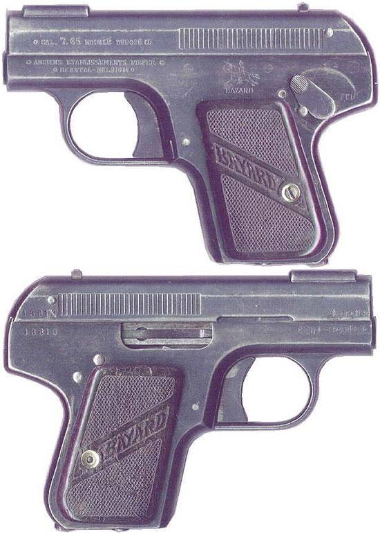 Bayard 1908 образца 1910 года под патрон 7.65 mm Browning