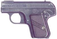 Пистолет Bayard 1908