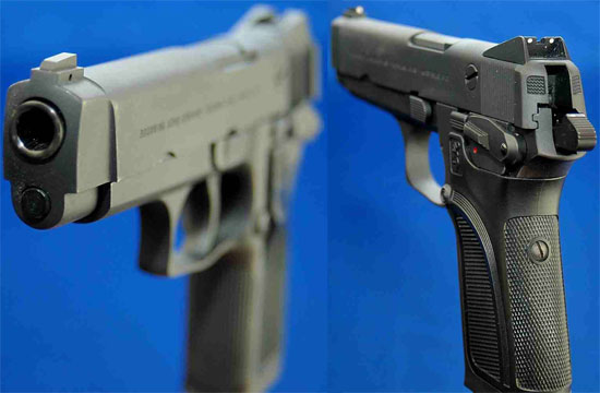 Browning BDM (вид спереди и сзади)